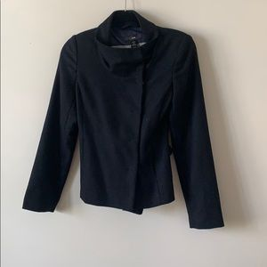 H&M Snap Button Blazer/Jacket Navy Size 4